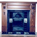 Berkley Dark Cedar Mantle $1500