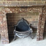 Empire Marble fireplace Rouge Square