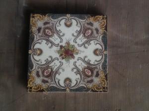 single Victorian Delicate Pattern tile c1890 $45