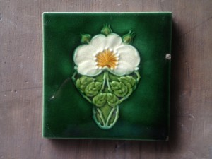 Embossed c1905 Feature Tile $40