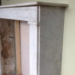 Carrara Empire mantle side view
